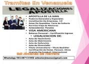 Licencia internacional, carta consular, renovacion