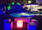 Salas lounge led para eventos