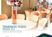 Organización de eventos , decoración , guayaquil