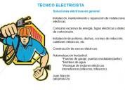 Ofrezco servicios como tÉcnico electricista