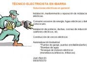 Servicios como tÉcnico electricista