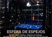 Alquiler de esferas de espejos