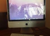 Computadora apple imac de mesa