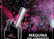 Máquina de confeti para campañas