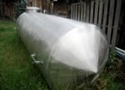Tanque horizontal acero inoxidable 3000 litros