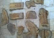En venta trozos de madera para decoracion teca ped