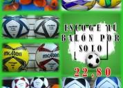 Balones de fútbol en oferta, envío nacional.