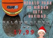 Balones de basquet para regalo de navidad.