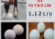 Pelotas ideales para jugar futbolin