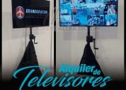 Televisores de alquiler para eventos