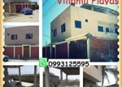 playas villamil alquilo casa vacacional amoblad$65