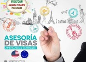 Asesoria migratoria - visados para estados unidos,