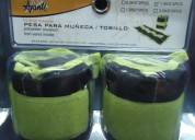 Pesas muñequeras / tobilleras de 1 kg