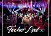 Techo led 3d de alquiler
