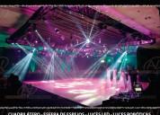 Iluminacion audio, video, sonido de alquiler