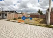 Terreno en venta 295 m2 al norte de riobamba 50 000 00