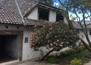 Sangolqui sector poncho verde se vende amplia casa amplia area verde 6 dormitorios 3000 m2