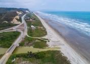 Venta de macro lote con vista al mar esquinero via san vicente canoa 52487 m2