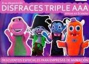 venta de disfraces triple aaa unicos en ecuador
