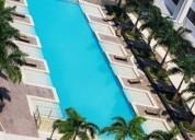 Departamento amoblado 3 dormitorios puerto santa ana 194 m2