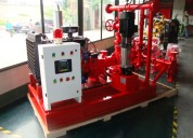 Sistema de bombas de incendios bajo nfpa 20