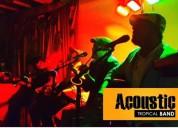 Música acústica para fiestas