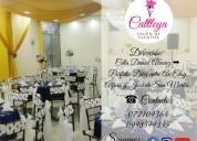 Cattleya salón de eventos y cumpleaños en loja