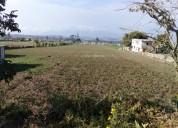 Venta o permuto hermoso terreno en malchingui