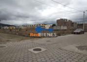 Terreno de 1 808 m2 ideal para conjunto 280 000 00 en riobamba