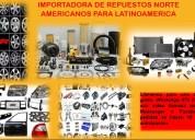 Repuestos y aceites (para latinoamerica)