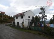 Terreno con 2 casas de venta en santa maria