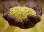 Oro,  oro dispongo de 9 libras oro aluvion ley 910