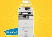 Fotocopiadora ricoh mpc4503