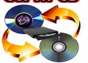 Servicio de impresion y copia de disco cd y dvd