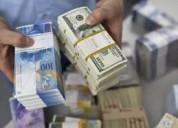 Asistencia financiera a particulares.