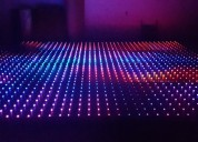 Pista led para eventos sociales corporativos