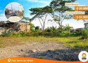 Se vende lote con cambio de suelo en el barrio las palmas 411 m2