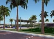 Venta de terreno bifamiliar urb parques de la isla bifamiliar 1383 m2