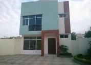 alquilo linda villa urb bello horizonte via la costa 3 dormitorios 308 m2
