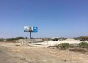 Venta de terreno con anteproyecto comercial al ingreso de playas 380000 m2