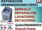 ReparaciÓn,instalaciÓn y mantenimiento de lavadora