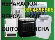 Servicio tecnico de lavadoras,calefones,neveras a