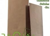 Fabricamos bolsas de papel kraft para licores