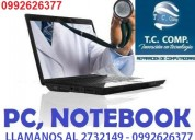 Reparacion de laptops y pc de todas las marcas