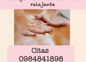 Masajes corporales antiestrés