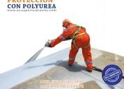 Aplicación polyurea ecuador ecuapoliuretanos