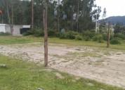 Venta de terreno en otavalo san eloy
