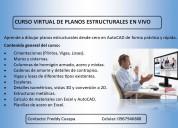 Curso virtual de planos estructurales con autocad