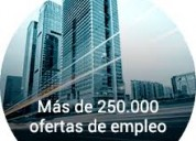 oferta de empleos varias plazas disponible