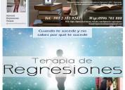 Regresiones hipnosis terapia sanacion adicciones